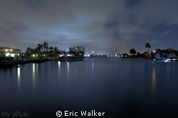 Bay in West Palm Beach FL. by Eric Walker 